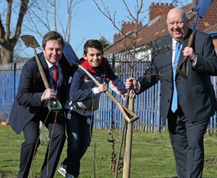 Funding secured to give city green make-over