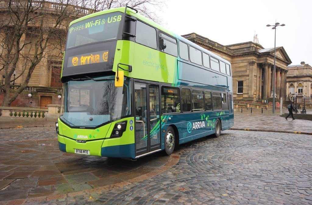 We're busy introducing more electric and hybrid buses