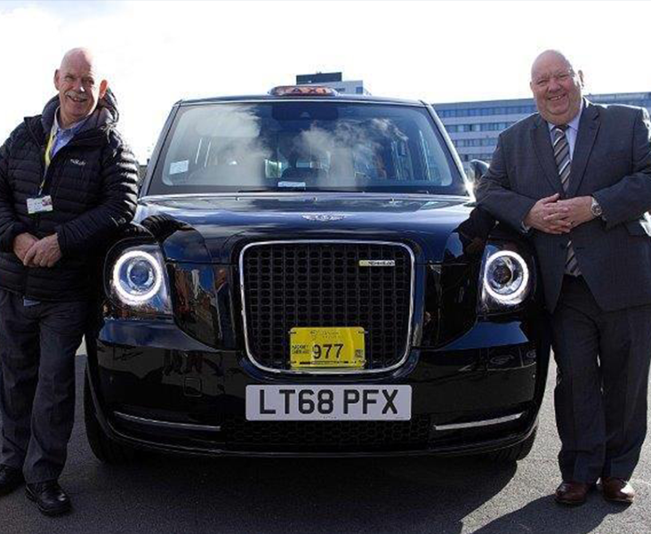 State-of-the-art 'super cab' hits the streets of Liverpool