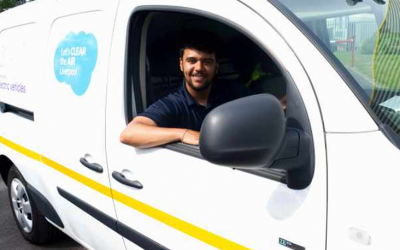 Pest Control clears the air with eco-friendly vans