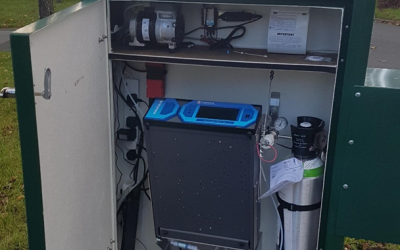 Enviro Technology Services supply five high tech NO2 air quality monitoring stations to Liverpool City Council.